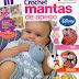 Mantas Naninhas em crochet para bebês