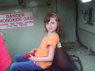 inside a tank!