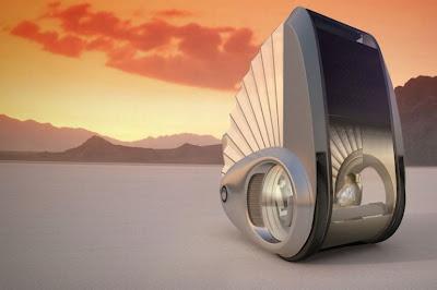 Mobil Berkemah Masa Depan yang Super Canggih