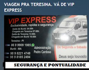 VIAGEM PRA TERESINA. VÁ DE VIP EXPRESS