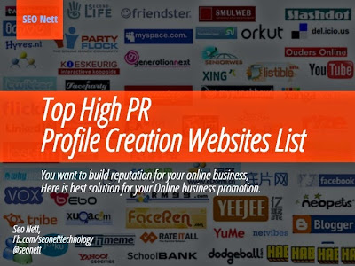 Profile Creation Websites List