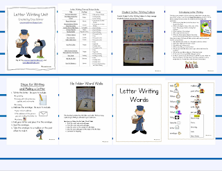 Letter Writing Anchor Chart http://ericabohrer.blogspot.com/2011/04/letter-writing-unit.html