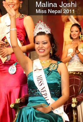 Miss Nepal 2011 Malina Joshi