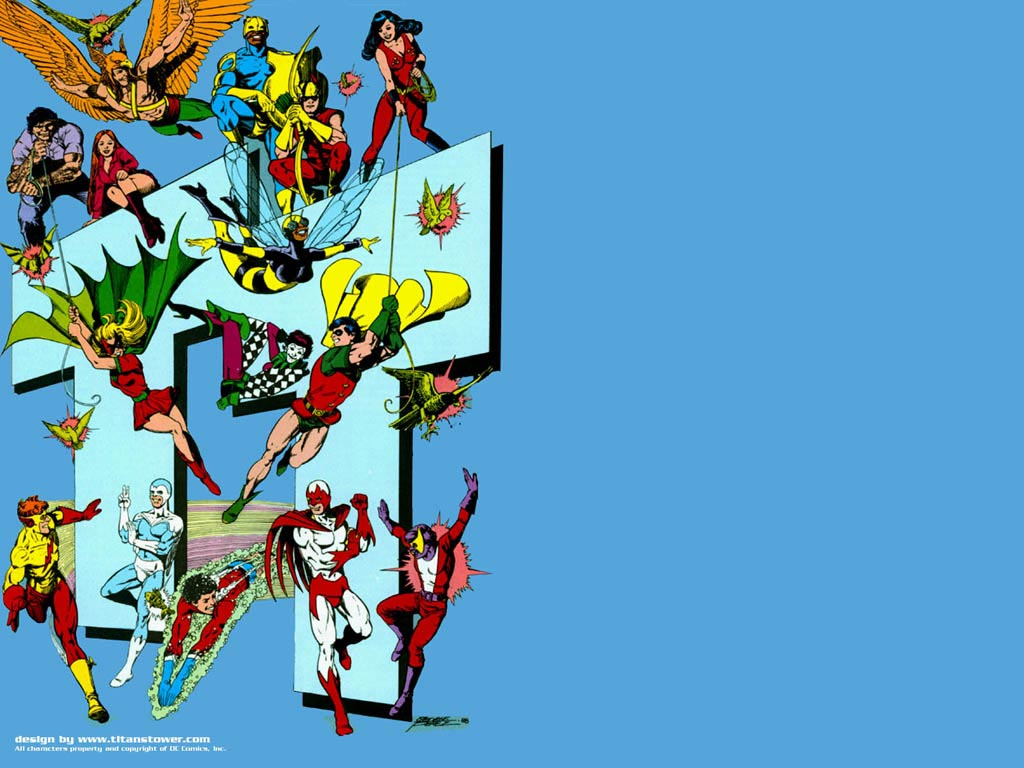 Teen Titans Screensaver - Thousands of Free Screensavers