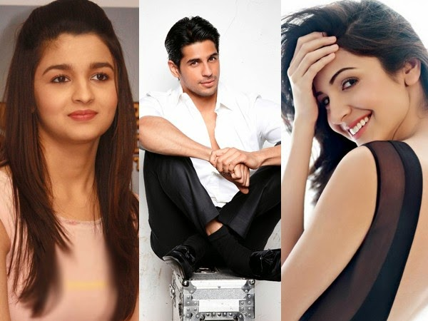alia bhatt, anushka sharma, sidharth malhotra, karan johar, alia bhatt latest movie, anushka sharma latest movie, sidharth malhotra latest movie, karan johar latest movie