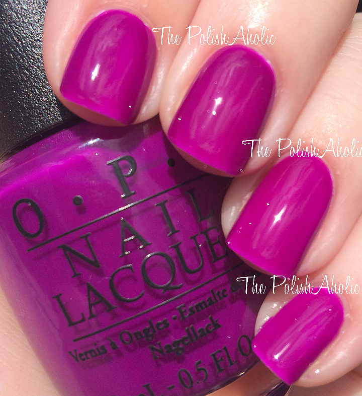 The PolishAholic: OPI Neons Collection Swatches & Review