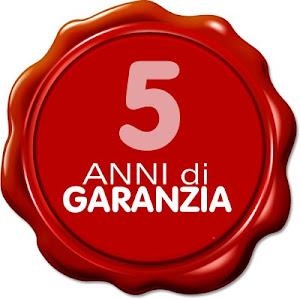GARANZIA 5 ANNI