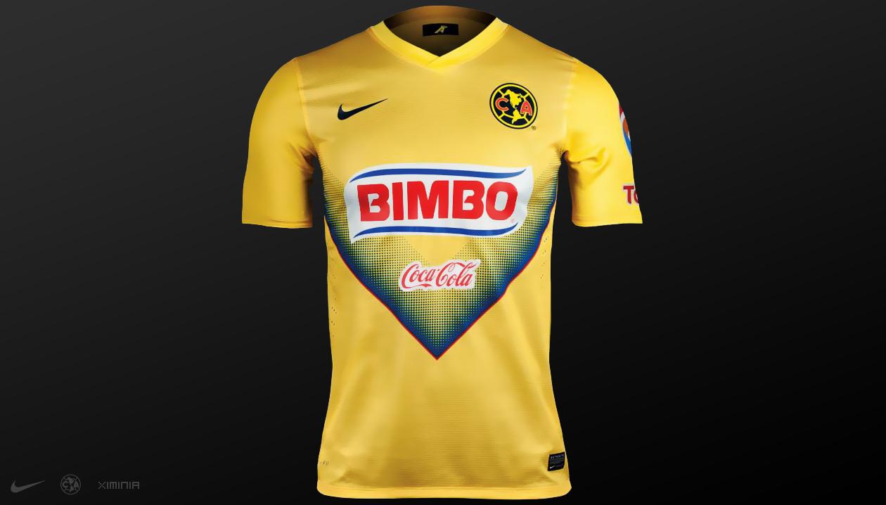 La camiseta del am rica 2013 14 ximinia for Cuarto uniforme del club america