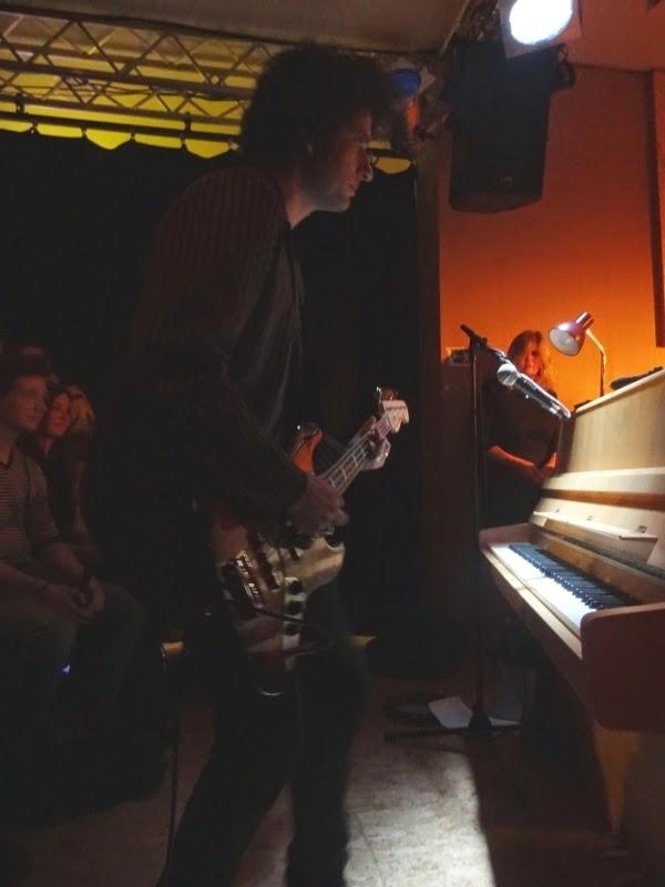 20.03.2015 Dortmund - Schauspielhaus: Paul Wallfisch w/ Gemma Ray
