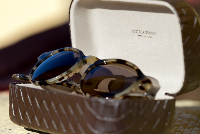 NEW SUNGLASSES: Bottega Veneta in Panto Style