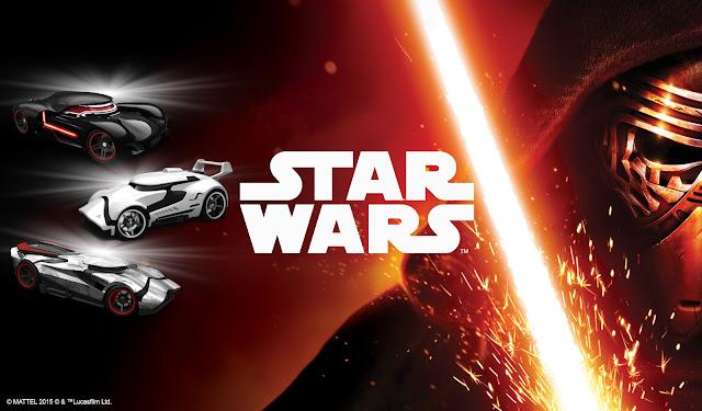Llegan los 'Hot Wheels – Star Wars' con motivo de 'Star Wars: el despertar de la fuerza'