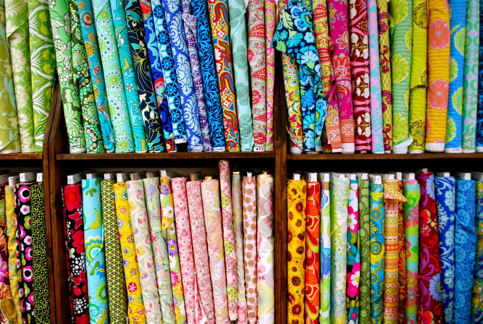 LaRoque: fabric shopping in houston