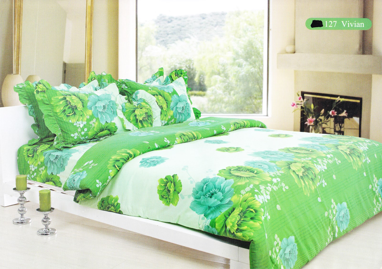 Grosir Sprei Murah Tanah Abang Bed Cover My Love Selimut  Tattoo ...