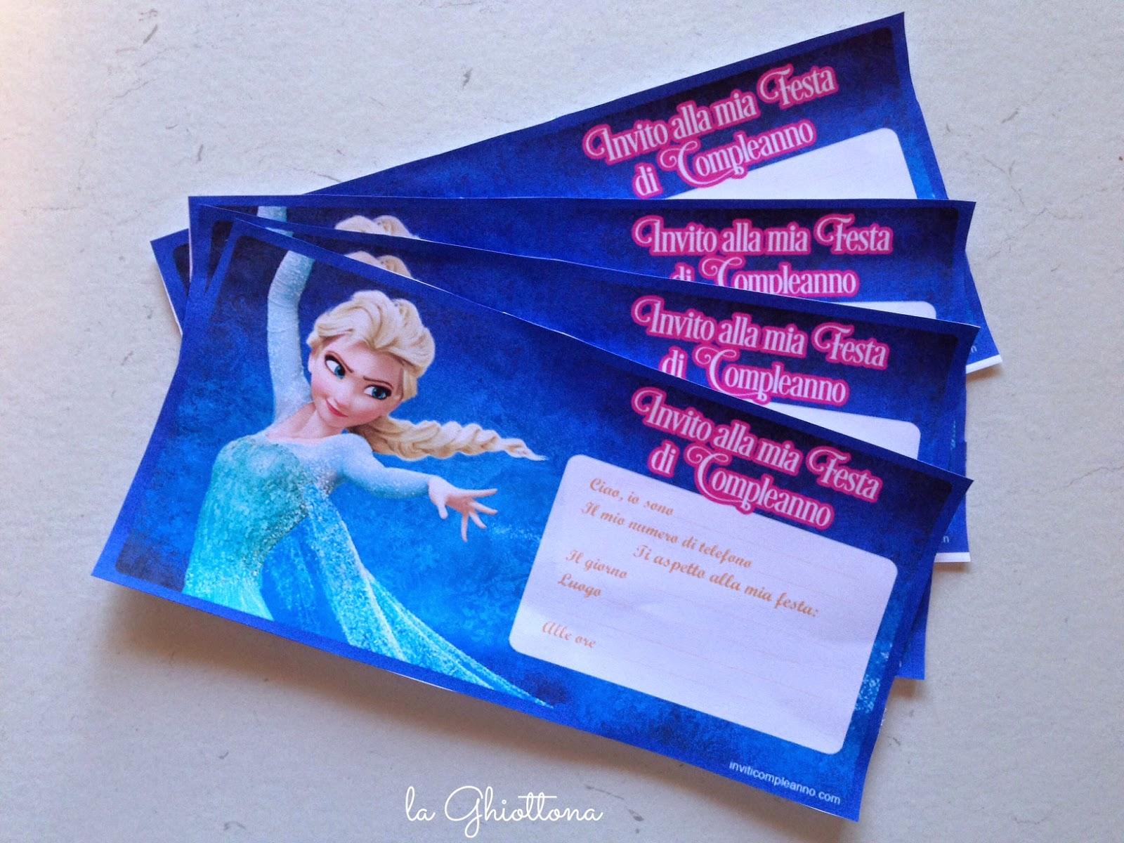 spesso Frozen Party: consigli e idee TG92
