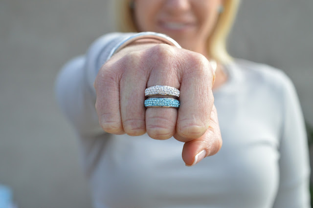 Sydney Fashion Hunter - The Wednesday Pants #40 - Silver Slicker - Envy Jewellery Bedazzle Rings