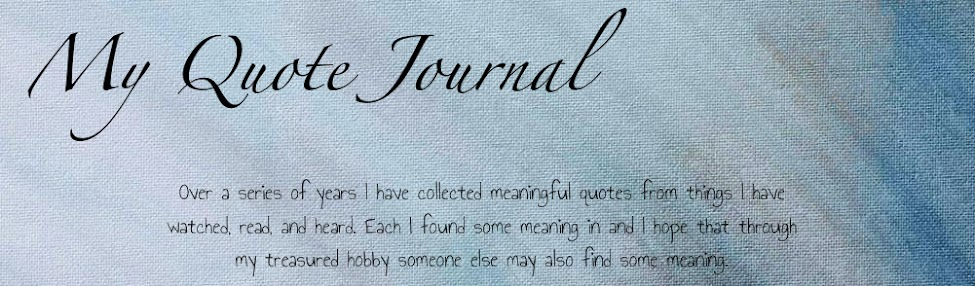 My Quote Journal
