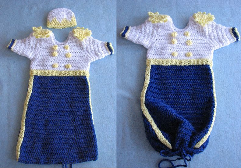 Snow White u0026 Prince Charming Sweet Pea Outfits For Baby & Donnau0027s Crochet Designs Blog of Free Patterns: Snow White u0026 Prince ...