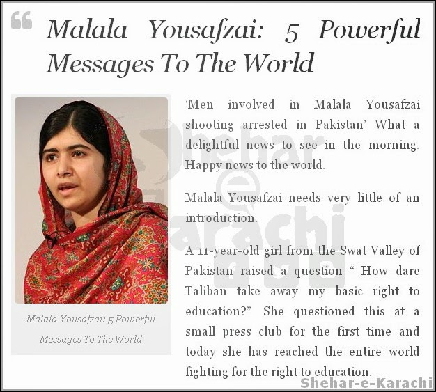 Malala Quotes From Book