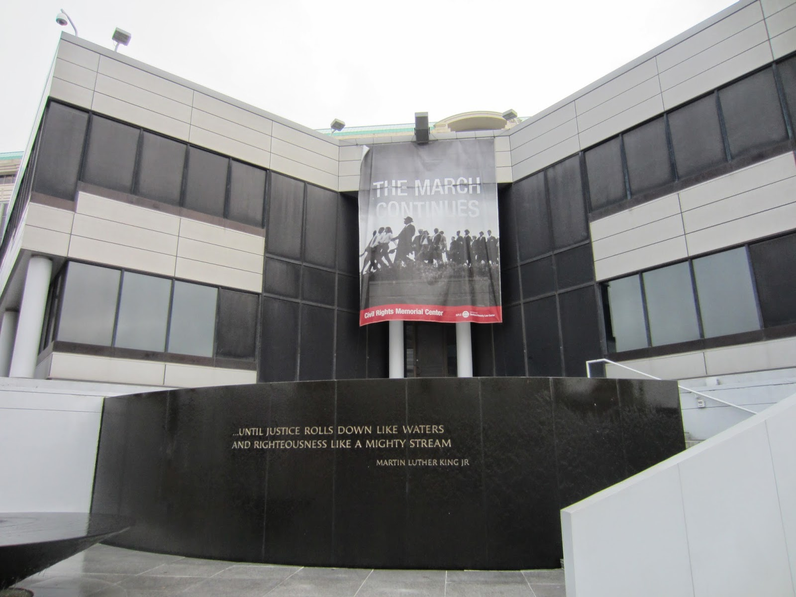 Southern Poverty Law Center Civil Rights Memorial, Montgomery, AL / Souvenir Chronicles