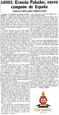 Crónica final de Román Torán sobre el XXXV Campeonato Individual de España de Ajedrez, Llaranes-Avilés 1970