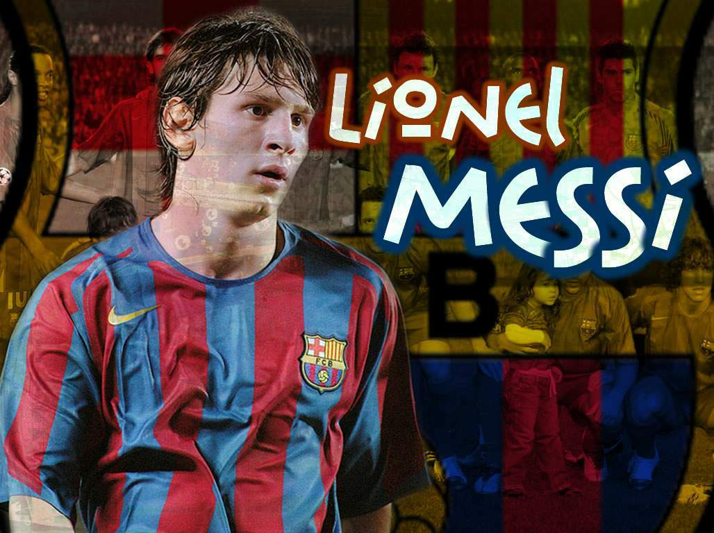Lionel Messi With Jersey