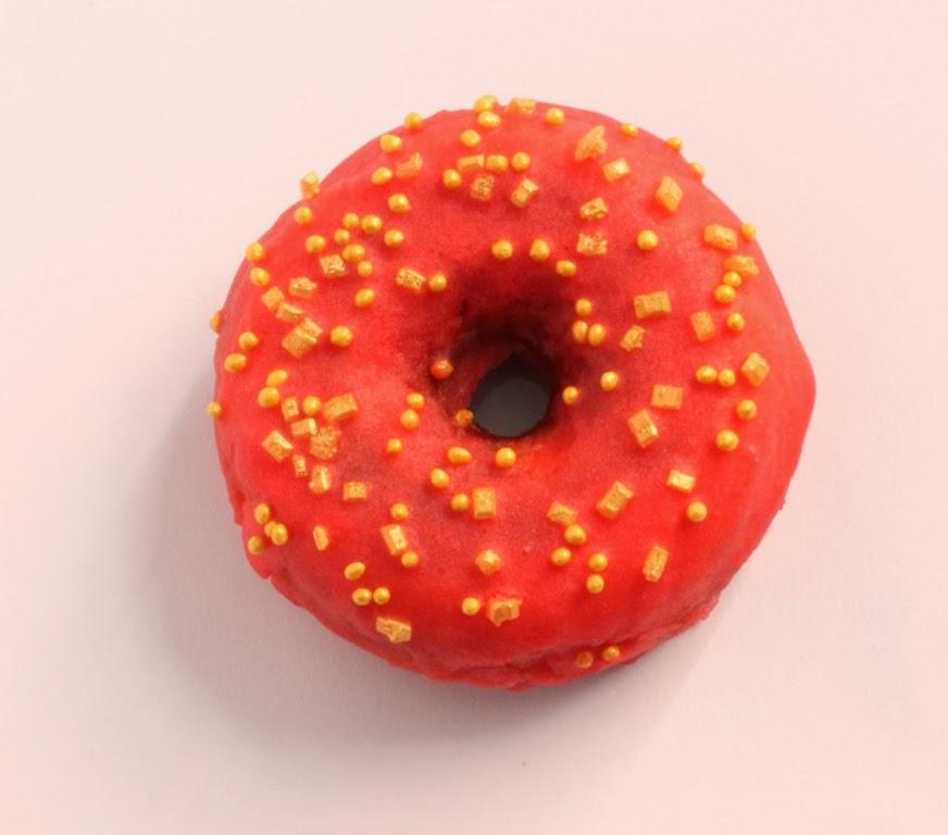 Mini donuts de caramelo al horno - El dulce mundo de Nerea