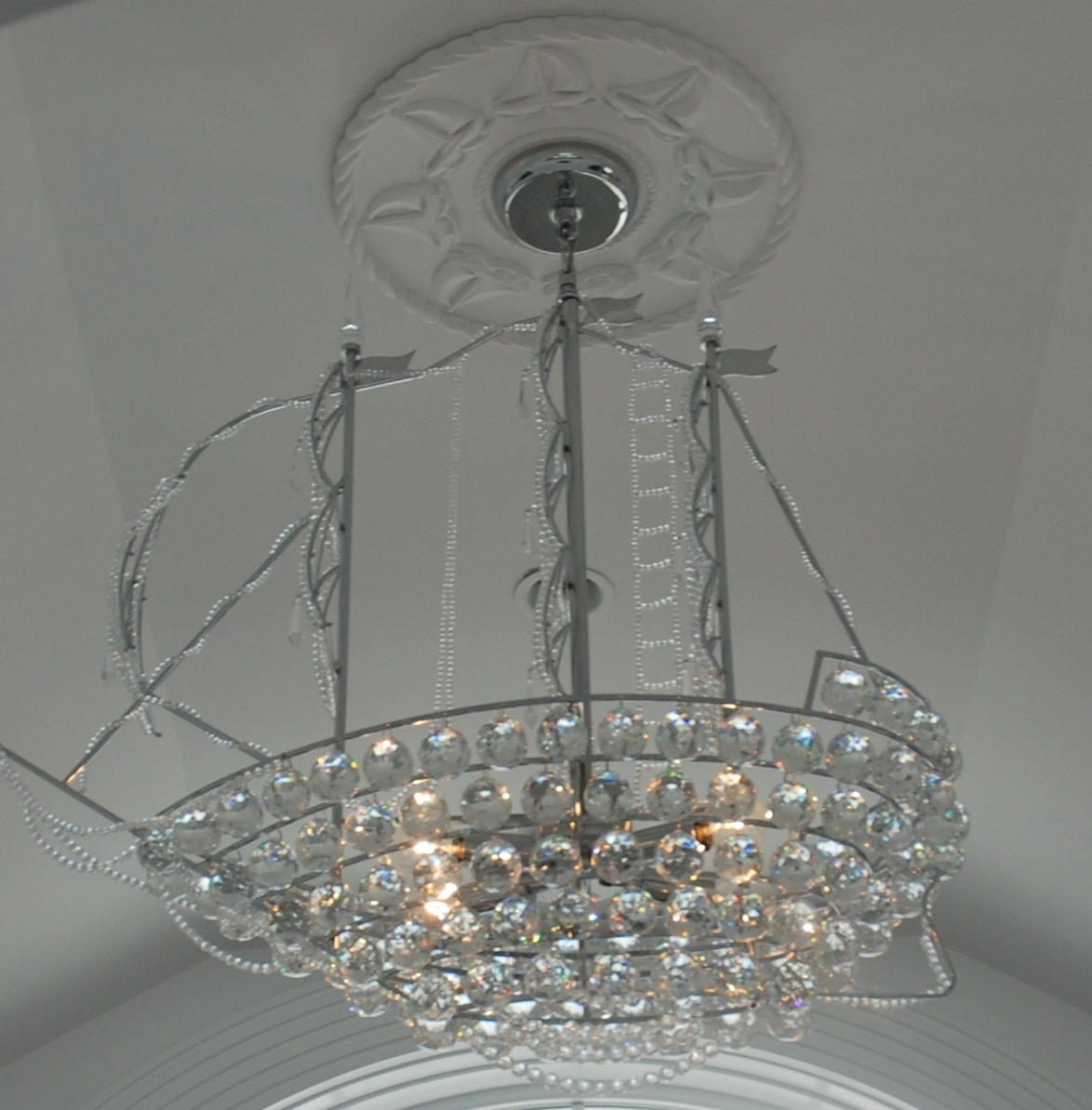 Marie ricci collection ceiling medallions in nautical designs by marie ricci arubaitofo Choice Image