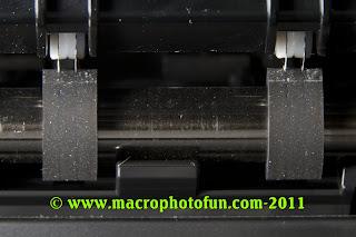 Canon PIXMA Pro9500 Mark II photo printer feed rollers