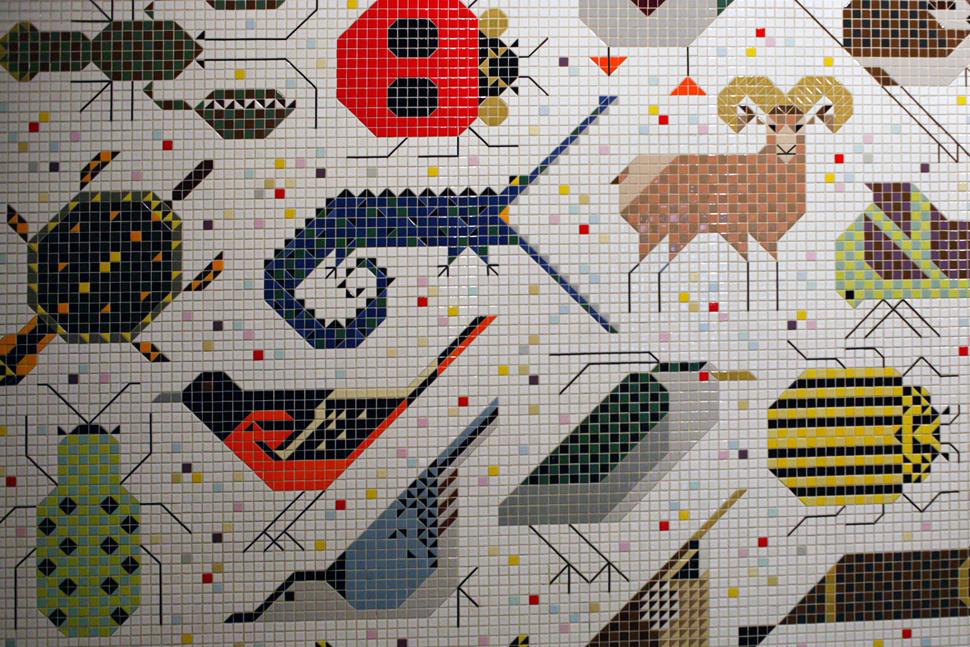 Projektowanie graficzne wzornictwo graphic design for Charley harper mural cincinnati