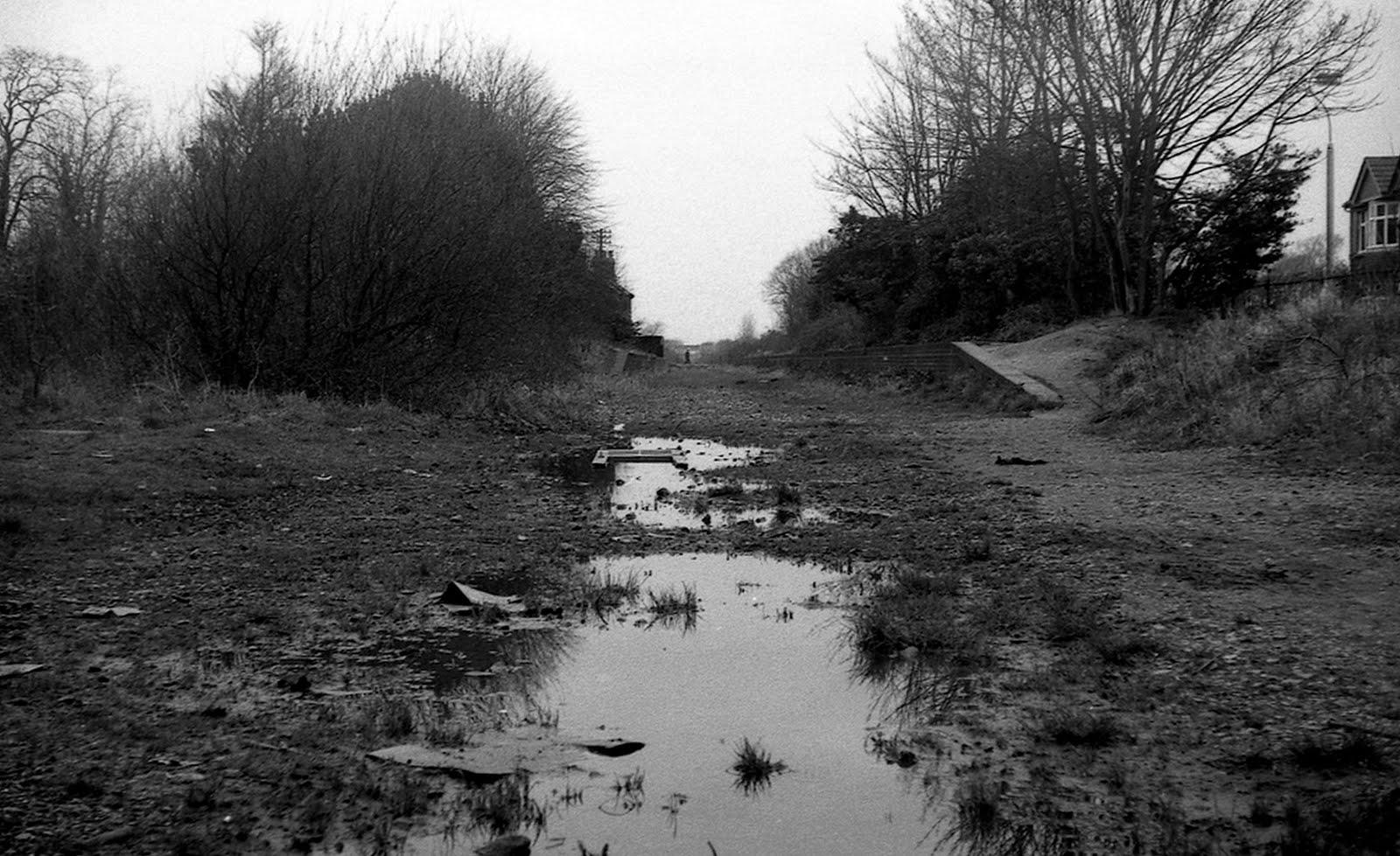 Fort Brockhurst trackbed