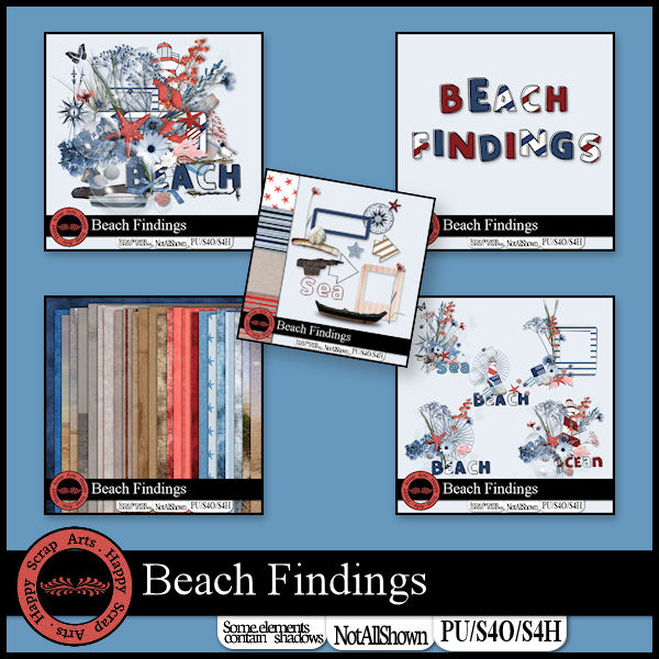 HSA Beach Findings bundle