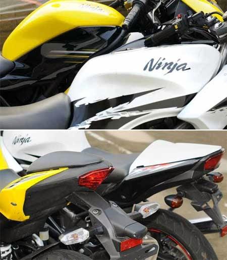 Perbedaan Ninja RR Mono dengan Ninja 150RR