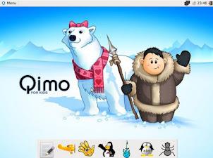 Dopo Linux per ipovedenti e anziani ecco Qimo - Linux per bambini da 3 anni in su