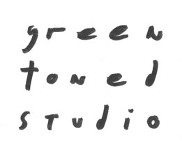 The green toned studio