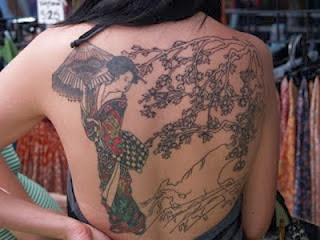 Tatuagens de Gueixa