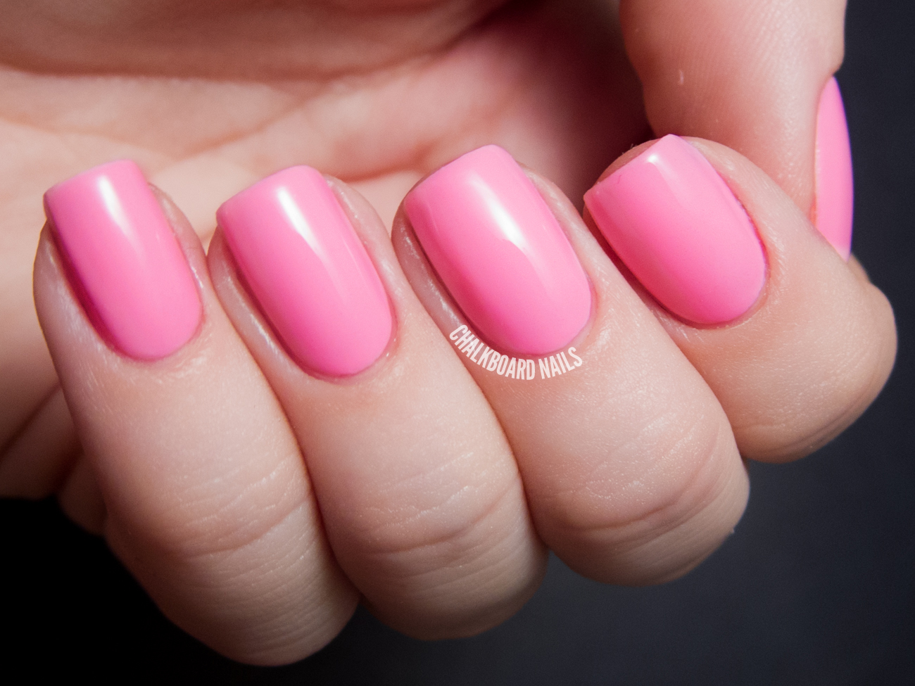 Serum No. 5 Pink Lantern Swatch and Review | Chalkboard Nails | Nail ...