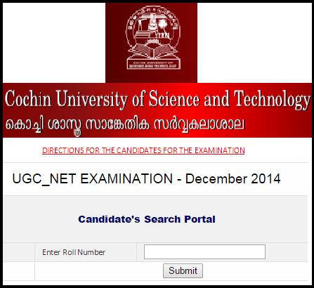 CUSAT Kochi CBSE UGC NET 28th December 2014 Subject Code Wise Seat Arrangement Plan (Coordinating Institution Code-16)