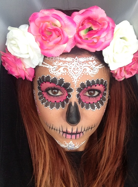 Crown Brush Sugar Skull Make Tutorial Annabella Lingis