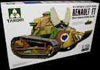 Takom's 16th scale Renault FT review
