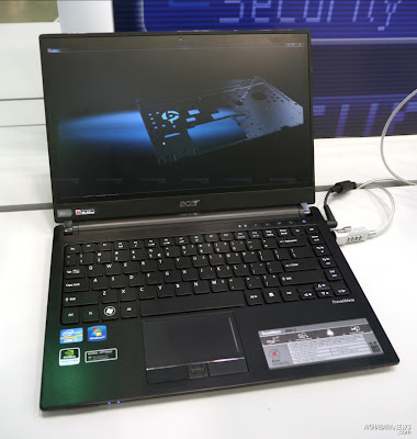 new New Acer TravelMate 8481 Notebook Review and Specification 2011