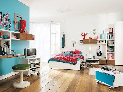 Modern Furniture for Kids Bedroom Design, http://dornob.blogspot.com/