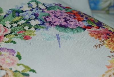 венок всех сезонов, вышивка венок, вышивка венок сезонов, вышивка венок с изминениями, вышивка цветы, вышивка дименшинс