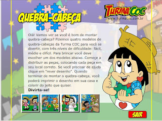 http://www.professoracarol.org/JogosSWF/projetos/FestaJunina/festa-junina-quebraCabeca.swf