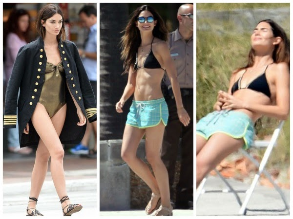 Perks-of-Being-a-Supermodel-Lily-Aldridge-gets-to-Sun-Herself-while-taking-a-Time-Out-from-Work