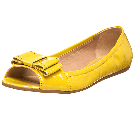 Жълти ниски обувки