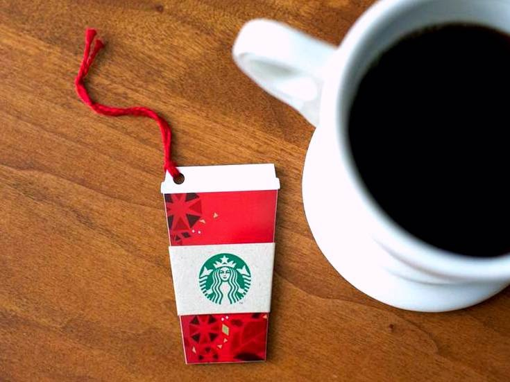 Starbucks Cup Card Starbucks Iconic Red Cup
