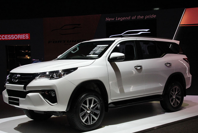 All New Toyota Fortuner 2015 White