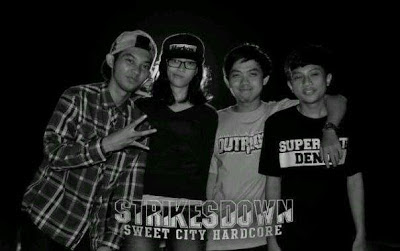 Strikes Down Band Sweet City Hardcore Ciamis Foto Personil Wallpaper