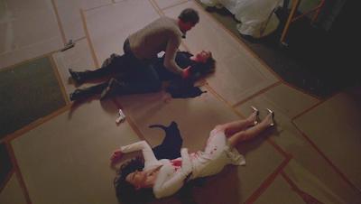 Emily, Victoria, David, Revenge 4x23