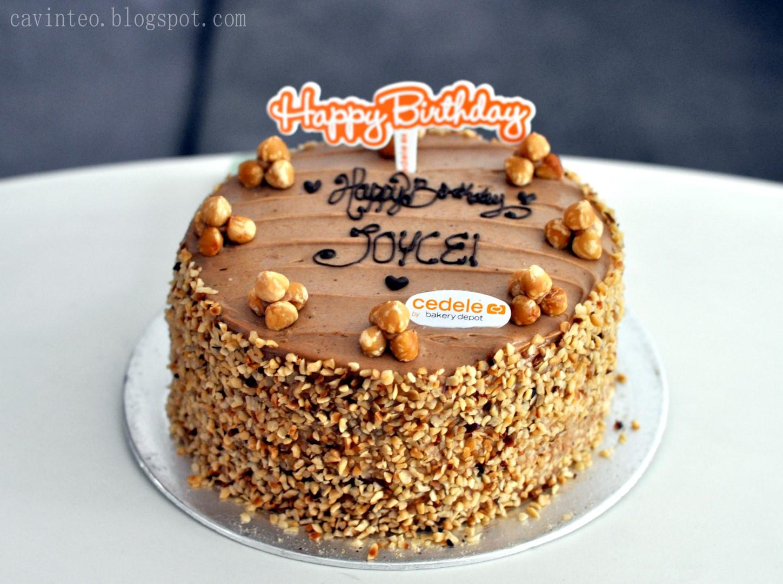Entree Kibbles Joyces Birthday Cedeles Pear Hazelnut Chilled Cake